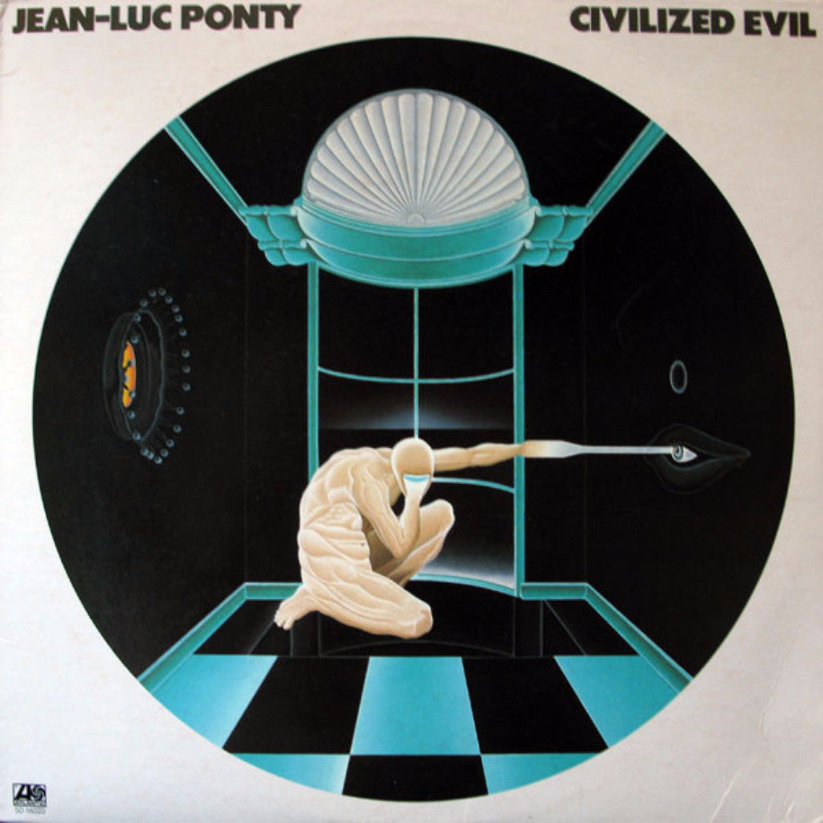Jean-Luc Ponty ‎– Civilized Evil - Vinyl Record - Front Cover