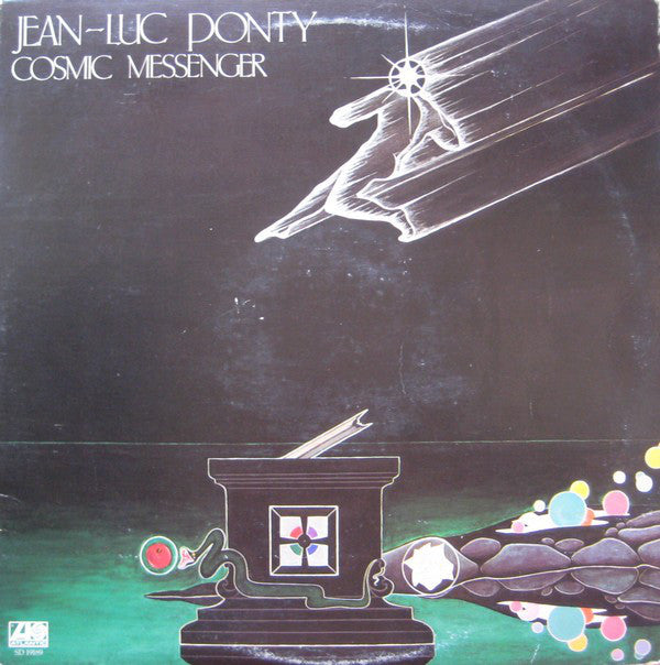 Jean-Luc Ponty ‎– Cosmic Messenger - Vinyl Record - Front Cover