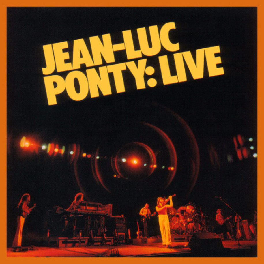 Jean-Luc Ponty ‎– Live - Vinyl Record - Front Cover