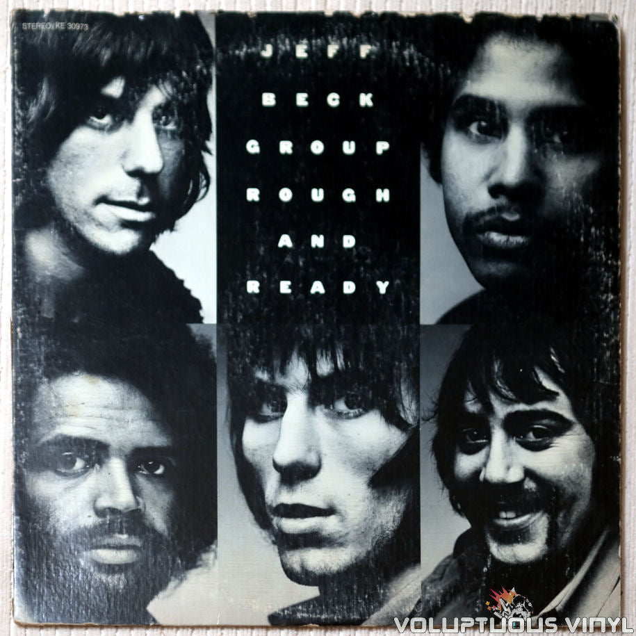 Jeff Beck Group ‎– Rough And Ready - Vinyl Record - Front Cover