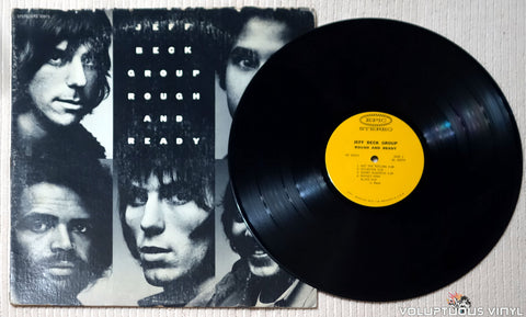 Jeff Beck Group ‎– Rough And Ready - Vinyl Record