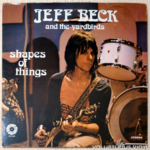 Jeff Beck And The Yardbirds ‎– Shapes Of Things vinyl record front cover