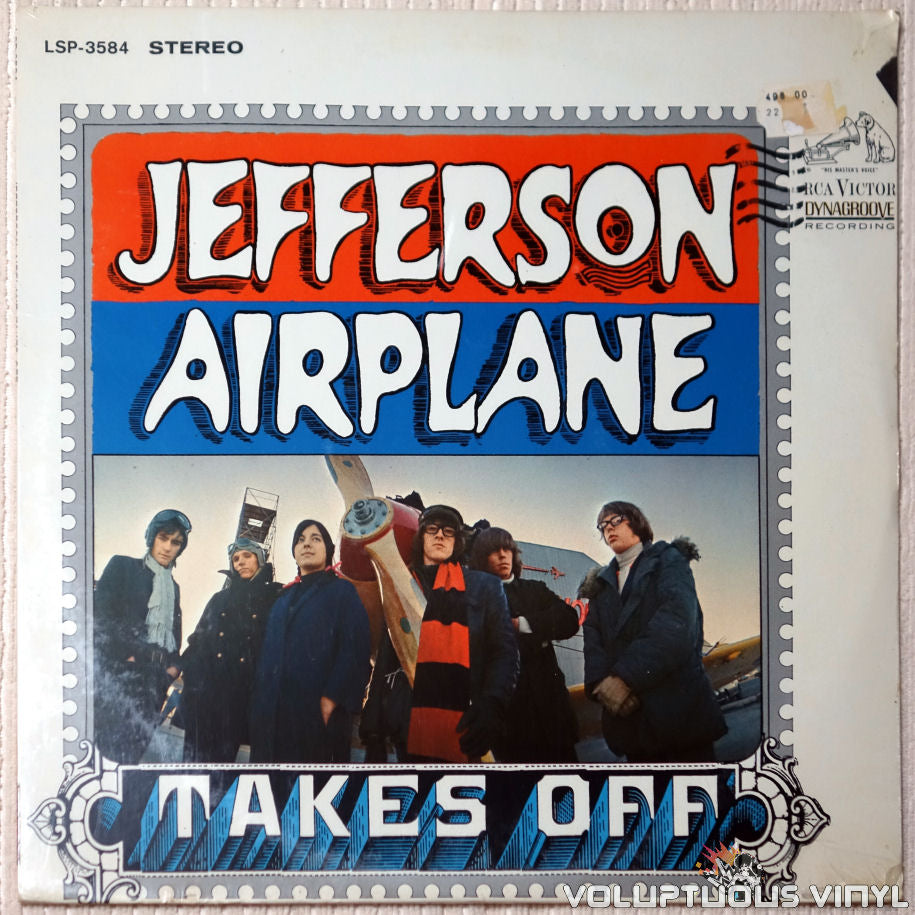 Jefferson Airplane ‎– Takes Off - Vinyl Record - Front Cover
