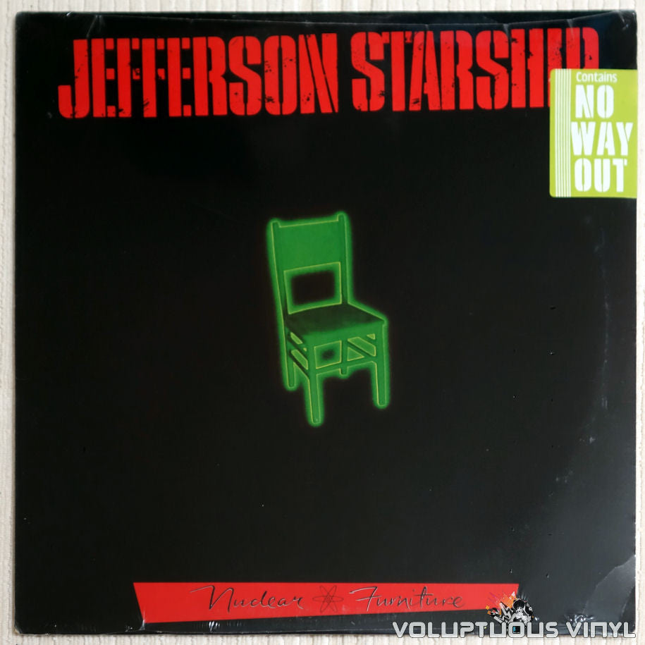 Jefferson Starship ‎– Nuclear Furniture - Vinyl Record - Front Cover