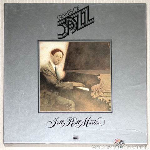 Jelly Roll Morton ‎– Giants Of Jazz: Jelly Roll Morton - Vinyl Record - Front Cover