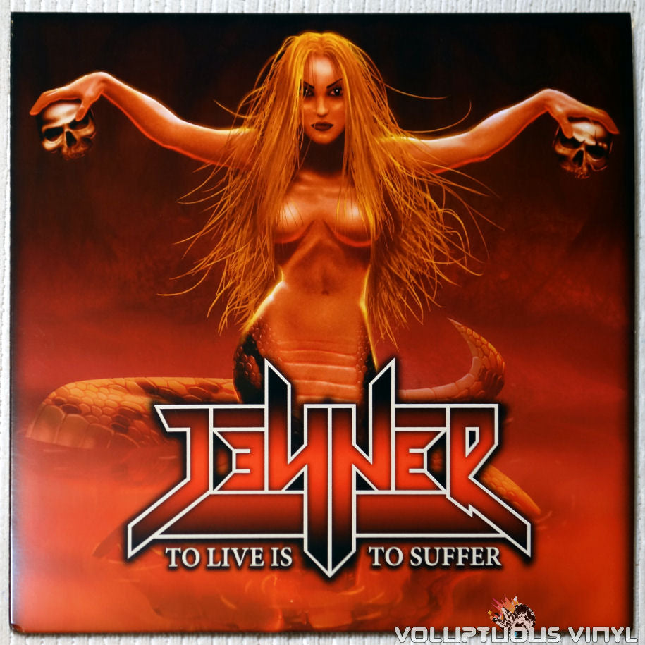 Jenner ‎– To Live Is To Suffer vinyl record front cover