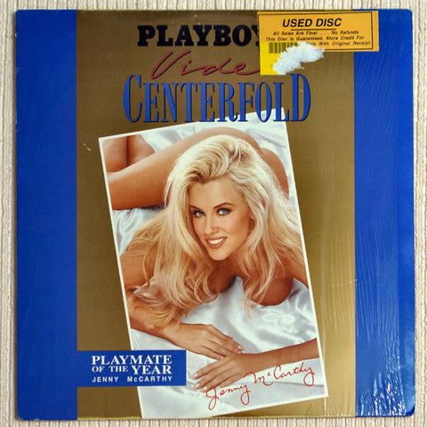 Playboy Video Centerfold: Jenny McCarthy: Playmate of The Year Laser Disc Front Cover