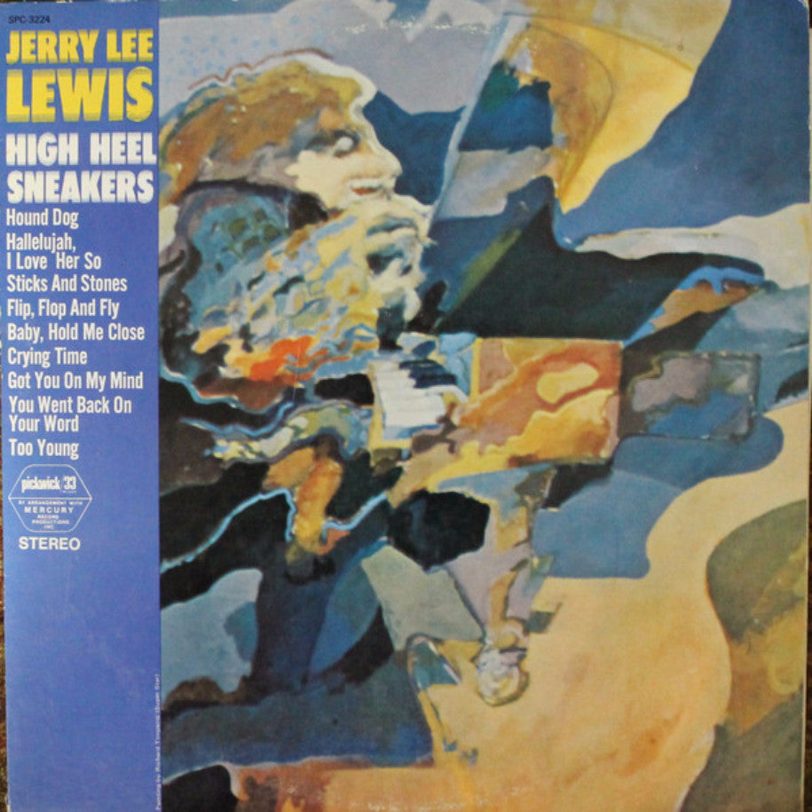 Jerry Lee Lewis ‎– High Heel Sneakers - Vinyl Record - Front Cover