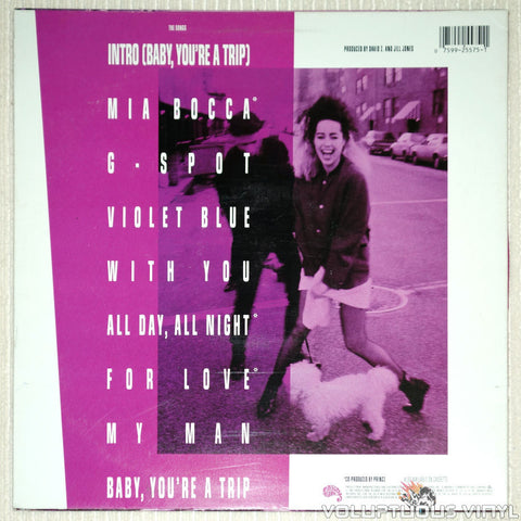 Jill Jones ‎– Jill Jones - Vinyl Record - Back Cover