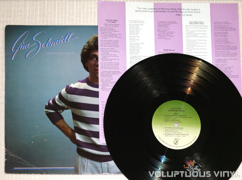 Jim Schmidt ‎– Somethin' Right - Vinyl Record