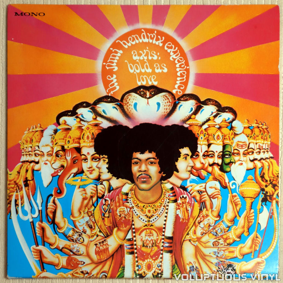 The Jimi Hendrix Experience ‎– Axis: Bold As Love - Vinyl Record - Front Cover