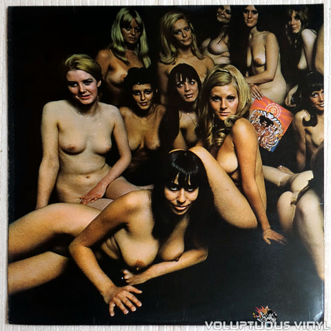 The Jimi Hendrix Experience ‎– Electric Ladyland - Vinyl Record - Nude Back Cover