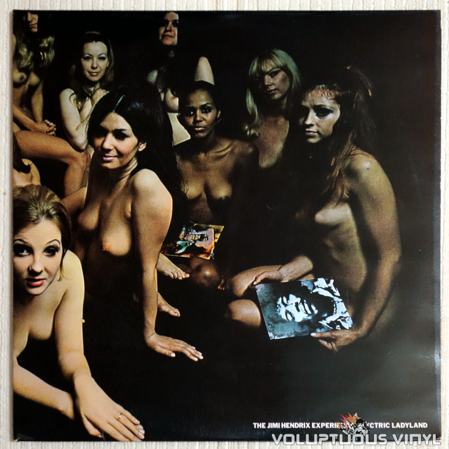 The Jimi Hendrix Experience ‎– Electric Ladyland - Vinyl Record - Nude Front Cover
