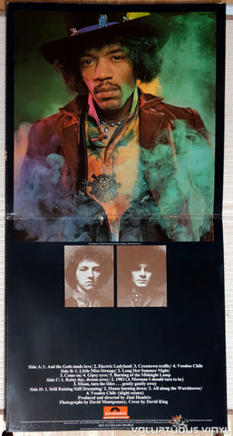 The Jimi Hendrix Experience ‎– Electric Ladyland - Vinyl Record - Inner Gatefold