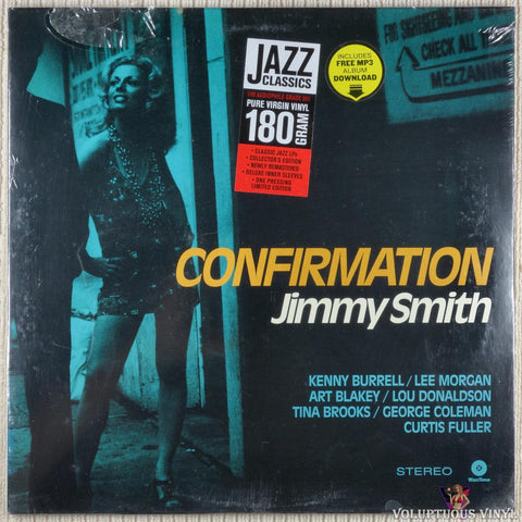 Jimmy Smith ‎– Confirmation vinyl record front cover