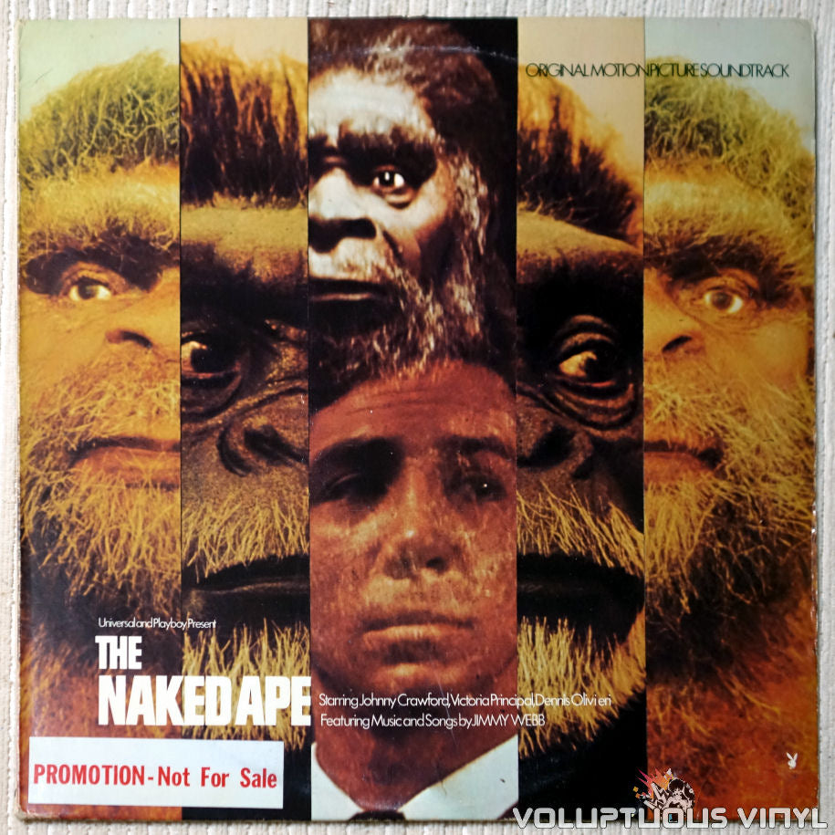 Jimmy Webb The Naked Ape soundtrack vinyl record front cover