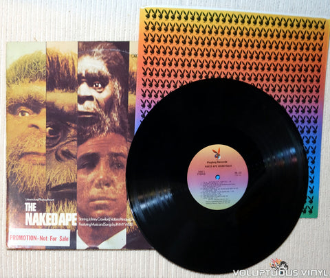 Jimmy Webb The Naked Ape soundtrack vinyl record