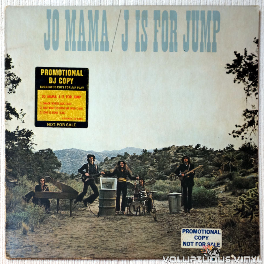 Jo Mama ‎– J Is For Jump vinyl record front cover