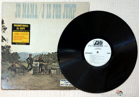Jo Mama ‎– J Is For Jump vinyl record