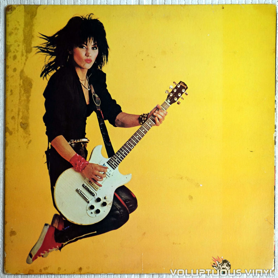 Joan Jett & The Blackhearts ‎– Album - Vinyl Record - Front Cover