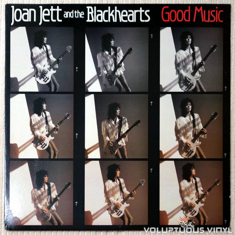 Joan Jett And The Blackhearts ‎– Good Music - Vinyl Record - Front Cover