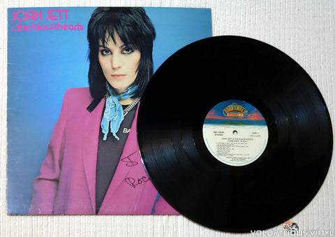 Joan Jett & The Blackhearts ‎– I Love Rock 'N Roll vinyl record