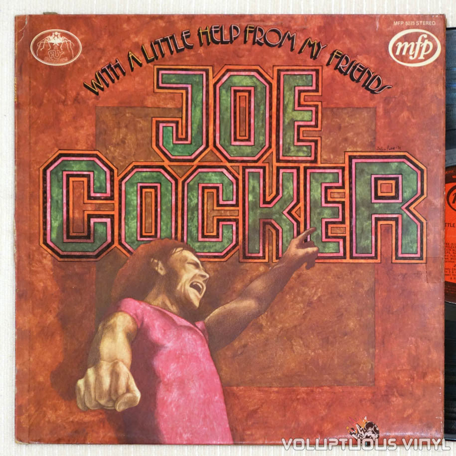 Joe Cocker ‎– With A Little Help From My Friends - Vinyl Record