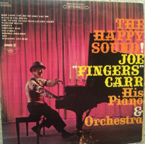 "Joe ""Fingers"" Carr His Piano & Orchestra ‎– The Happy Sound (1966) Cheap Vinyl Record"