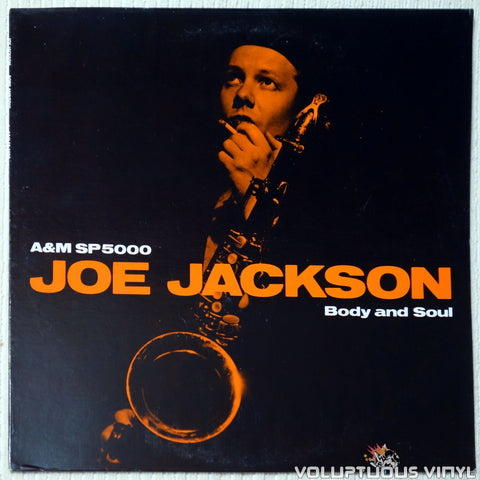 Joe Jackson ‎– Body And Soul vinyl record front cover