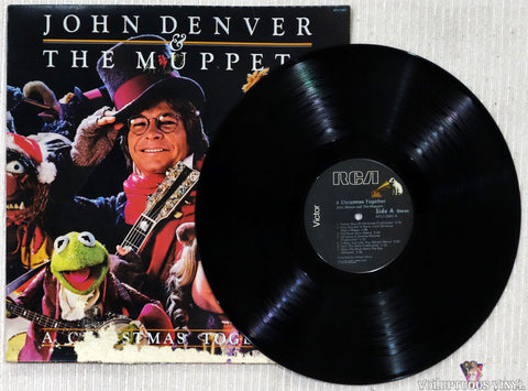 John Denver And The Muppets ‎– A Christmas Together vinyl record