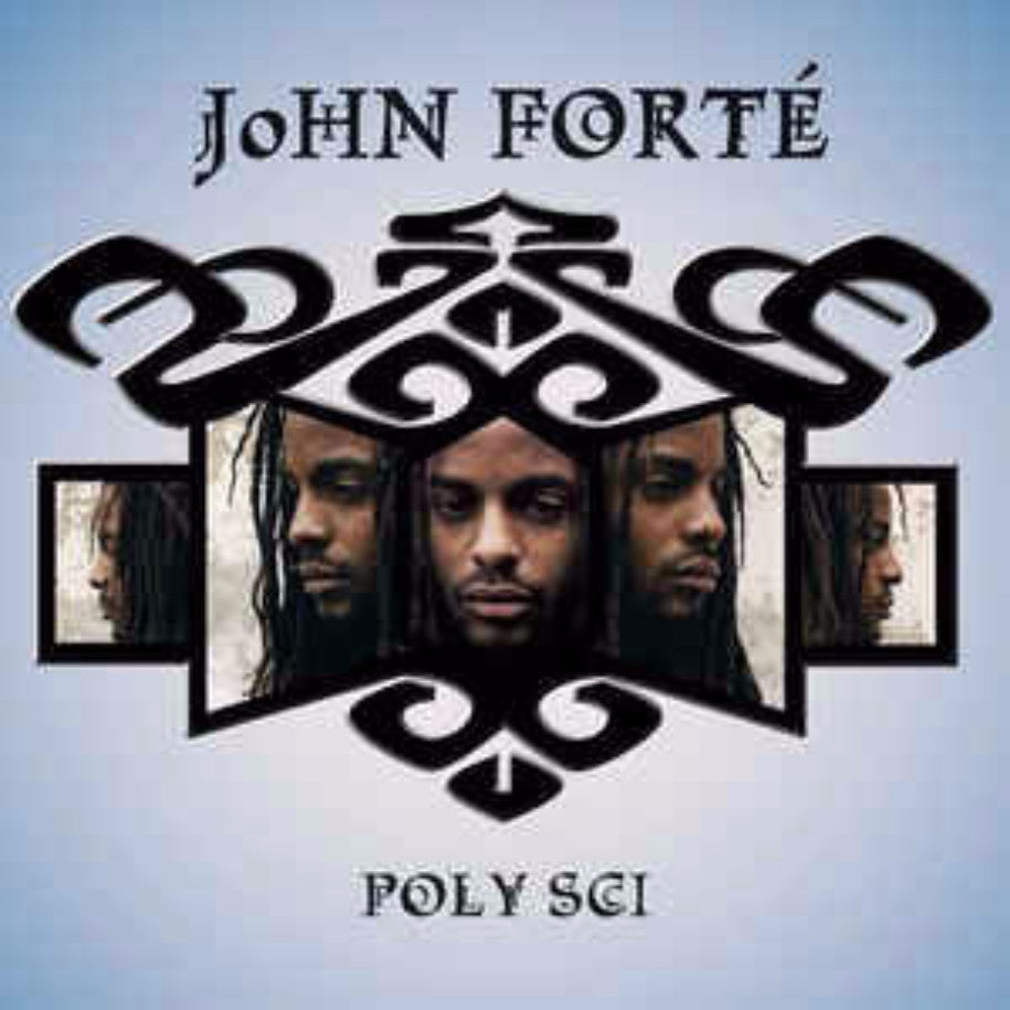 John Forté ‎– Poly Sci - Vinyl Record - Front Cover
