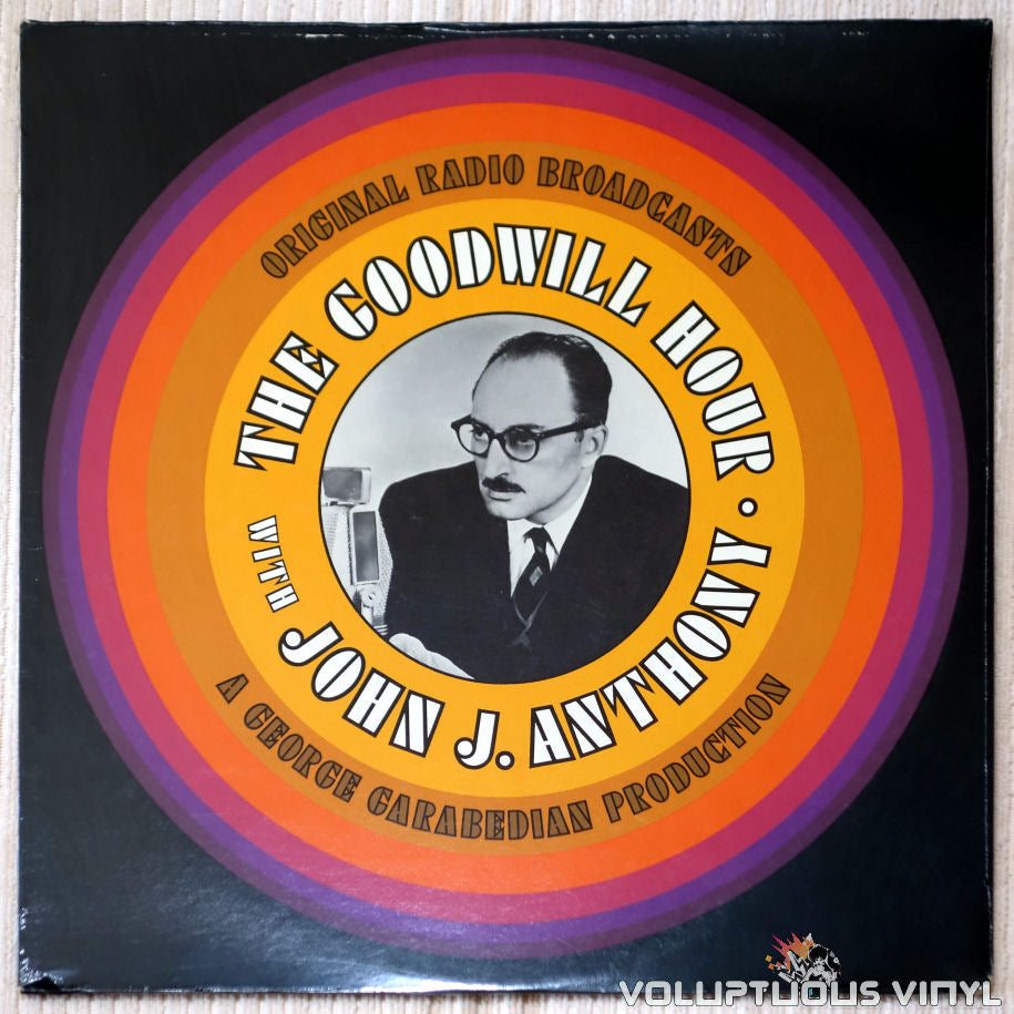 John J. Anthony ‎– The Goodwill Hour With John J. Anthony - Vinyl Record - Front Cover