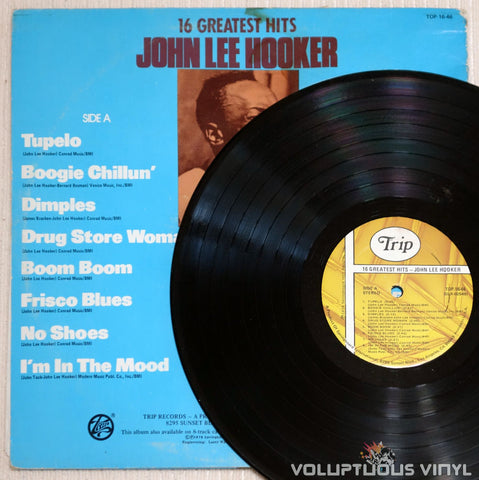 John Lee Hooker ‎– 16 Greatest Hits - Vinyl Record