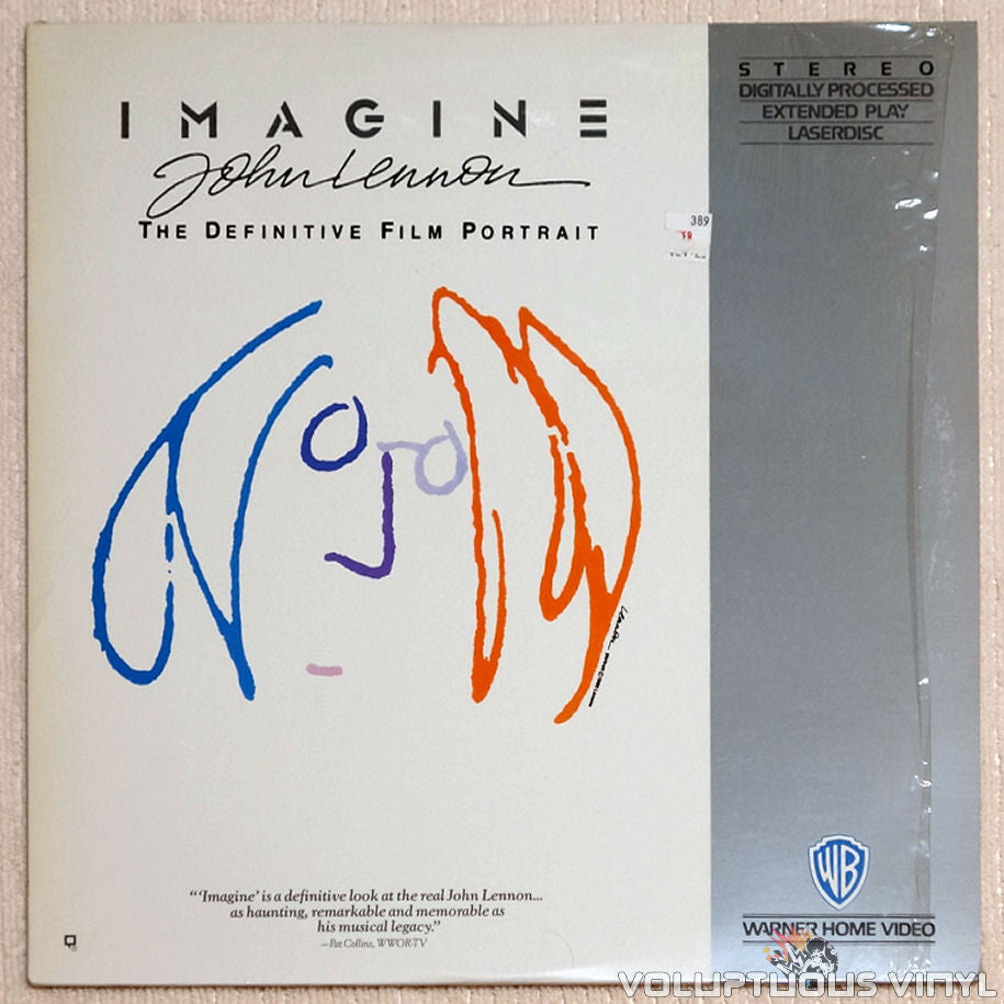 John Lennon: Imagine - The Definitive Film Portrait - Laserdisc - Front Cover