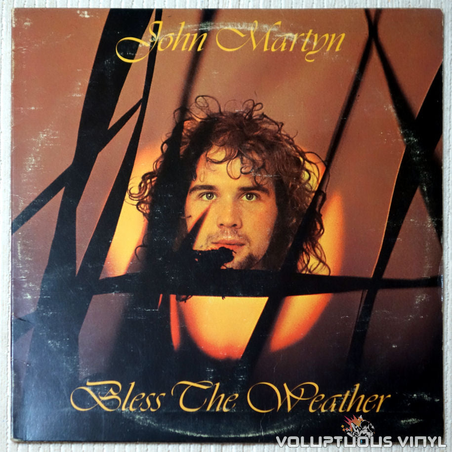 John Martyn ‎– Bless The Weather - Vinyl Record - Front Cover