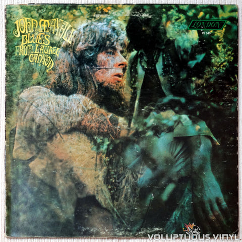 John Mayall ‎– Blues From Laurel Canyon vinyl record front cover