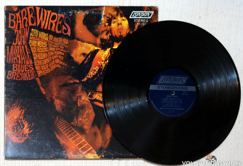 John Mayall's Bluesbreakers ‎– Bare Wires vinyl record