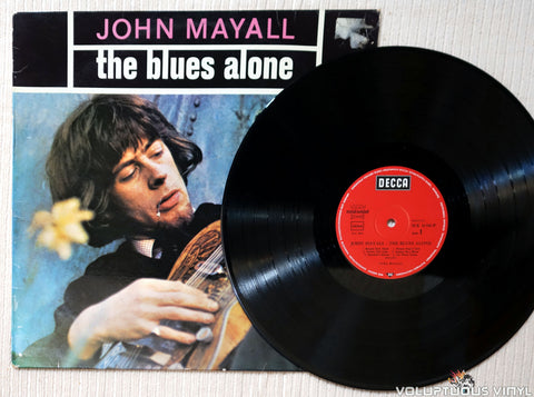 John Mayall ‎– The Blues Alone vinyl record