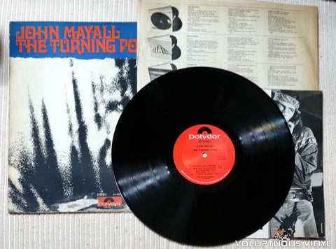 John Mayall ‎– The Turning Point - Vinyl Record