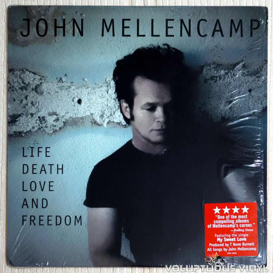 John Mellencamp ‎– Life Death Love And Freedom - Vinyl Record - Front Cover