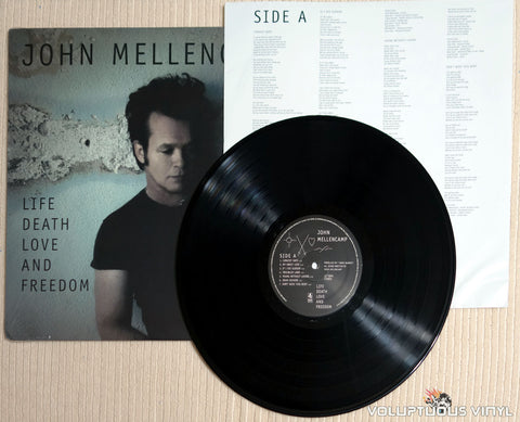 John Mellencamp ‎– Life Death Love And Freedom - Vinyl Record