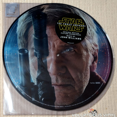 John Williams ‎– Star Wars: The Force Awakens (Original Motion Picture Soundtrack) (2016) 2xLP, Picture Disc