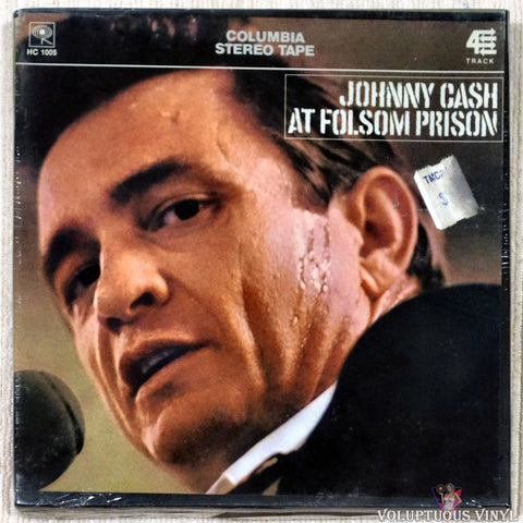 "Johnny Cash ‎– At Folsom Prison (?) 7"" Reel-To-Reel SEALED"