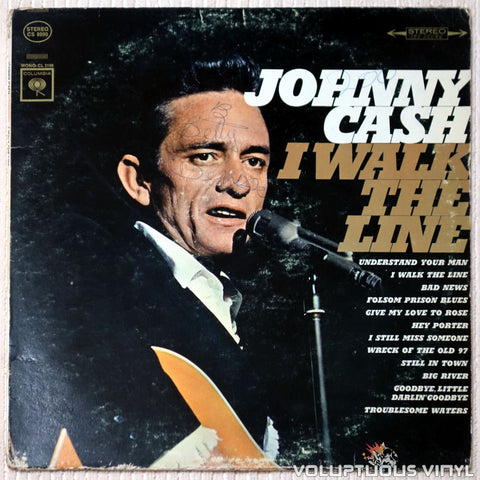 Johnny Cash ‎– I Walk The Line - Vinyl Record - Front Cover