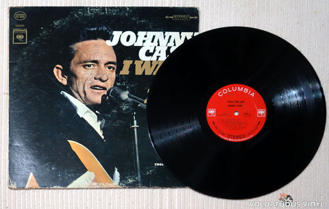 Johnny Cash ‎– I Walk The Line - Vinyl Record