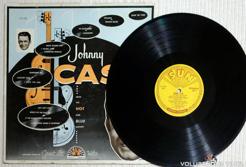 Johnny Cash ‎– With His Hot And Blue Guitar - Vinyl Record