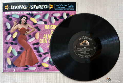 Johnny Conquet, His Piano & Orchestra ‎– Raisins & Almonds Cha Cha Cha - Vinyl Record