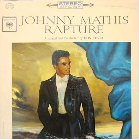 Johnny Mathis ‎– Rapture vinyl record front cover