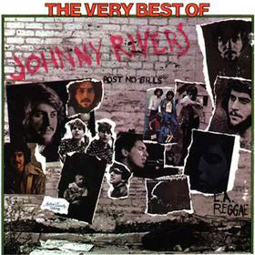Johnny Rivers ‎– The Very Best Of Johnny Rivers (1975) Cheap Vinyl Record