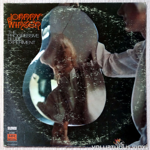 Johnny Winter ‎– The Progressive Blues Experiment vinyl record front cover